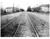 Ocean Ave  1924 - Looking from North from Ave R
