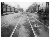 Ocean Ave  1924 - Looking North from Ave X