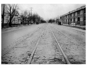 Ocean Ave  1924 - Looking North from Ave Y