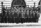 Officers of the 74th Precinct, 154 Lawrence Avenue, Parkville, c.1925