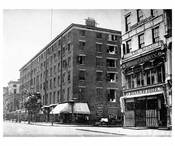 Old  New York Hotel - Broadway & Waverly Place 1875