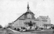 Original Sts. Simon and Jude Church on Avenue T and Van Sicklen Street, 1915