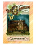 Orpheum Theater - Fulton & Rockwell Place 1900 - Vintage Poster
