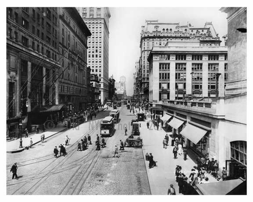 Outside of Grand Central - 42nd Street & Vanderbilt Ave - Midtown -  Manhattan 1913