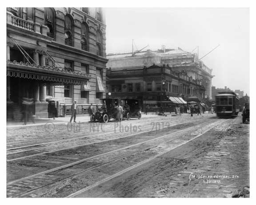 Outside of Grand Central - Midtown -  Manhattan 1912