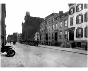 Pacific Street east from Clinton St. showing P.S. 78 1918