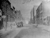 Pacific Street looking west to Clinton Street, 1918