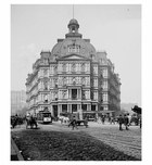 Park Row - City Hall 1900