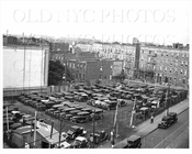 Parking lot on south side of East New York Ave between Amboy and Herzl Streets 1935
