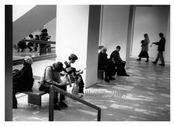 People at the MOMA 1960'S