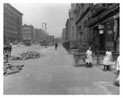 People on the Street - Metropolitan Ave  - East Williamsburg - Brooklyn, NY  1918