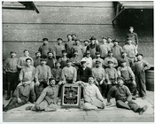 Piel Bros. Brewery - group photo