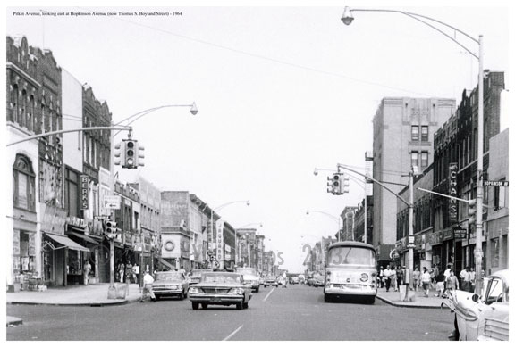 Pitkin Ave 1964