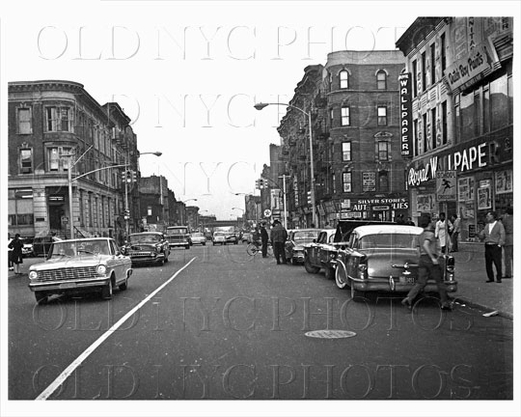 Pitkin Ave east toward Stone Avenue Brownsville Mother Gaston Blvd 1964