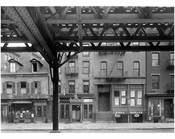 """Pool Parlor"" Bowery - East Side - between 3rd & 4th Streets 1915"