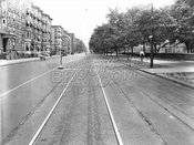 Prospect Park West, northeast from 12th Street, 1944