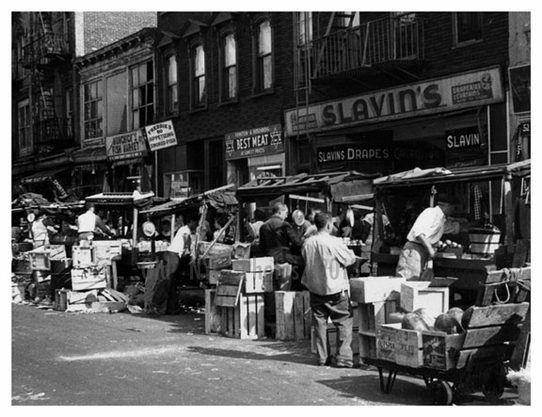 Pushcart Market Brownsville - Brooklyn NY