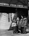 Rabbi Harry Halpern at East Midwood Jewish Center, 1625 Ocean Avenue, 1954