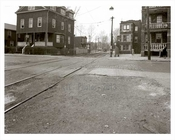 Railroad Ave at Coney Island 1940  - Brooklyn  NY
