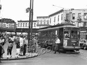 Ralph Avenue looking north at Quincy Street, 1951
