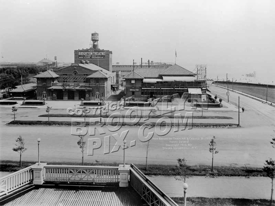 Reisenweber's Casino and New Brighton Theater, Ocean Parkway and Surf Avenue, 1912