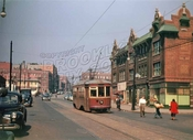 Rogers Avenue looking north at Sterling Street, 1947