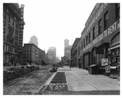Rooms & Cars for rent on this cestion of 7th Avenue between 37th & 38th Streets August 1916 Chelsea NYC