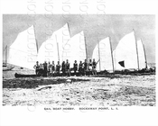 Sail Boat Hobby Breezy Point Rockaway Point LI