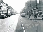 Smith Street, south at Degraw Street, 1949