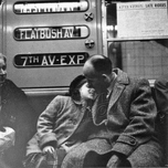 Snuggle on the IRT, c.1955