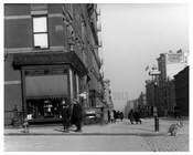 Somebody forgot to curb their dog on the corner of Lexington Avenue & 83rd Street  1911 - Upper East Side, Manhattan - NYC