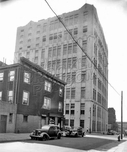 South 1st Street west to Wythe Avenue showing Fulton Bag Cotton Mills Building, 1940