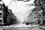South Oxford Street, north at Lafayette Avenue, 1912