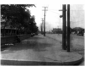 South Side of Surf Ave, looking west from West 23rd St. 1914