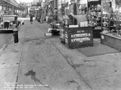South side Pitkin Avenue between Berriman Street and Atkins Avenue, looking east, 1938