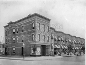 Southeast corner Hemlock Street and Ridgewood Avenue, builder's photo, c.1908