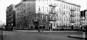 Southeast corner Hopkinson and St. Marks Avenues, 1940