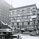 Southwest corner of 14th Street at 6th Avenue, 1937