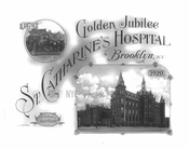 St. Catherines Hospital 50th Anniversery poster
