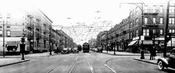 St. John's Place looking west to Ralph Avenue, 1944