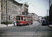 St. John's Place trolley, 1947