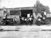 Stable at 578 Flushing Avenue, 1900