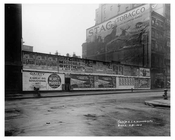 """Stag Tobacco"" & other Billboards on Broadway & Waverly Place - Tribeca - Downtown Manhattan NYC 1913"
