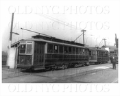 Staten Island Midland Trolley 303 on Saint George Terminal 1921