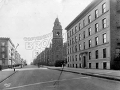 Sterling Place looking east to Underhill Avenue, 1924