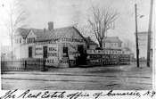 Steuerwald's Real Estate Office, Rockaway Parkway near Glenwood Road, 1907