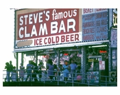 Steve's Famous clam bar at C.I. 1970s