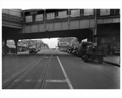 Stillwell Avenue South from Mermaid -  1943 Coney Island Brooklyn NY