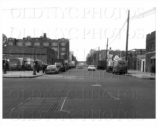 Stone Ave looking north facing Lott Avenue Brownsville PS 184 at Newport Ave 1965