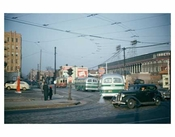 Street Scene with Ebbets Field - Flatbush Brooklyn NY